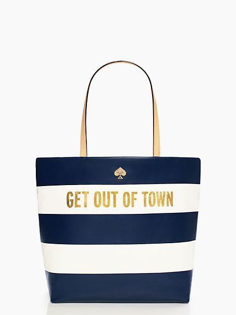 Kate Spade Get Out of Town Shopper