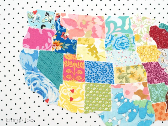 Fabric States with Hearts