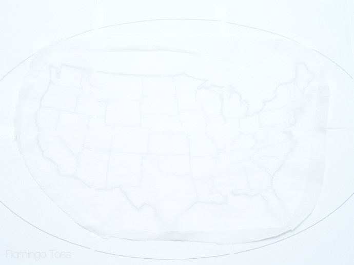 fabric and US Map