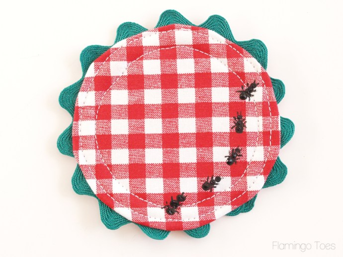 painted picnic ants
