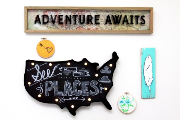 Adventure Gallery Wall