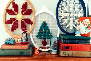 Oversized Christmas Cross Stitch