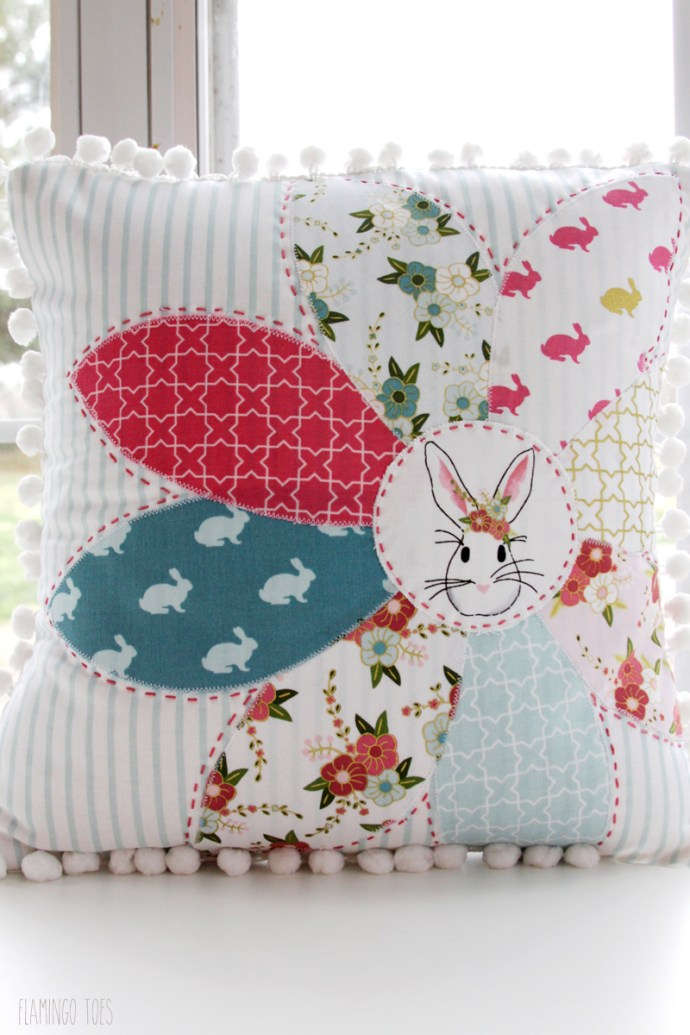Wonderland Fabric Pillow