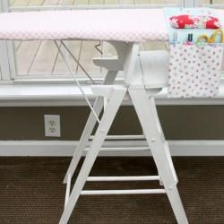 Easy Diy Ironing Board Organizer