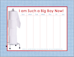 Free printable charts to use when potty training