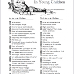 Encouraging Creativity in Young Children | free printable from www.flandersfamily.info