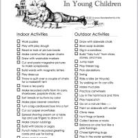 Encouraging Creativity in Young Children