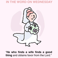 In the Word on Wednesday: Proverbs 18:22