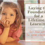 Laying the Foundation for a Lifetime of Learning: practical suggestions for preschoolers