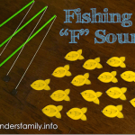 Fishing for F Sounds - a speech therapy game to help with articulation of initial F and final SH | www.flandersfamily.info