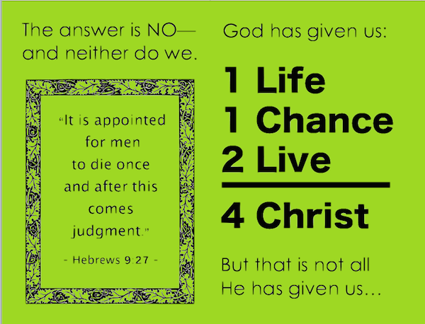 Delicate image inside free printable gospel tracts