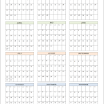 Free printable calendars for both 2016 and 2017. Hooray for advanced planning!