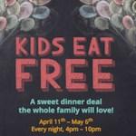 Kids Eat Free at IHOP through May 6, 2016