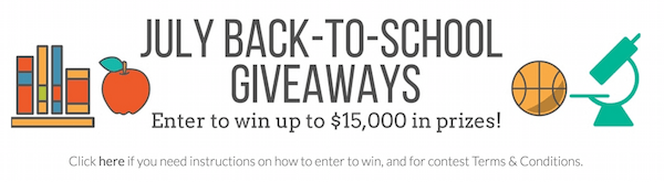 Enter to Win : $15000 in prizes from Educents!