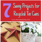 7 Savvy Projects to Make from Recycled Cans