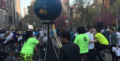 Habitat for Humanity in the Flatiron Plazas - Pedal for Humanity!