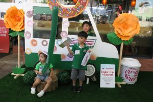 Our kids JJ, JP and LJ love Krispy Kreme!