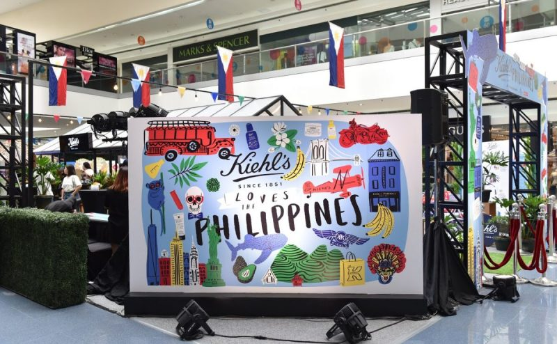 New York-based artist Ali Mac's exclusive new design for Kiehl's features the Philippine's most popular cultural icons.