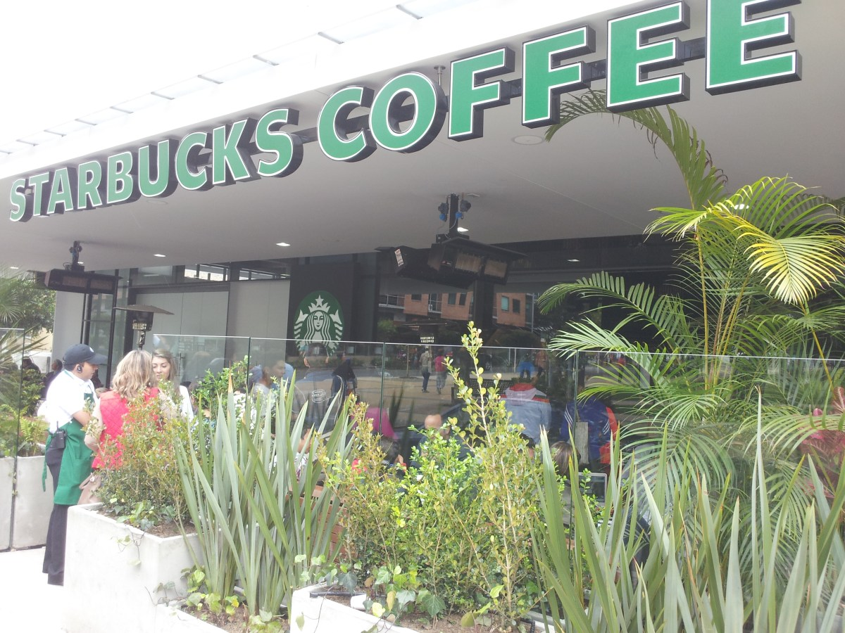Starbucks Arrived to Colombia