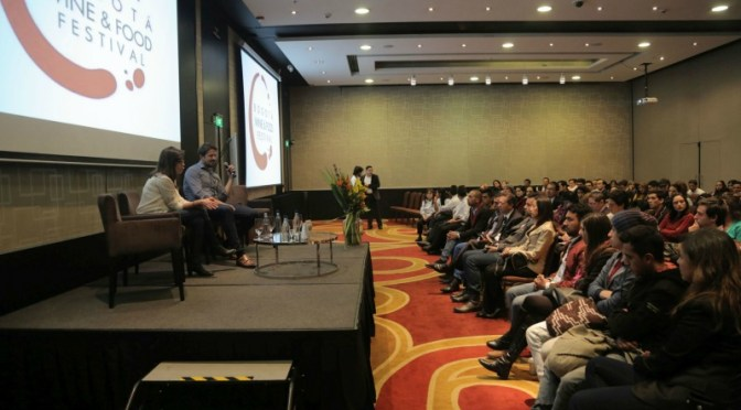 Bogota Wine and Food Festival talks