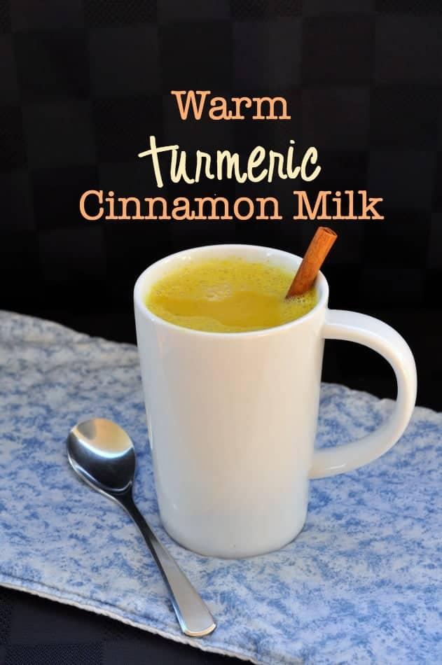 Warm Turmeric Cinnamon Milk