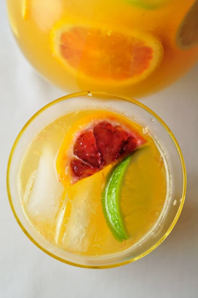 Citrus Sangria with Triple Sec - Flavour and Savour