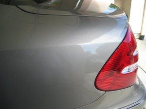 Benz E320 after