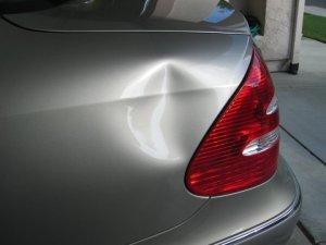 Benz E320 before