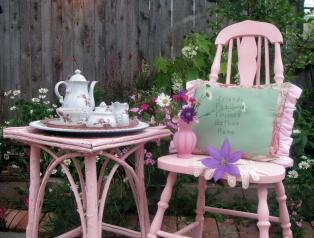 In the Pink Garden