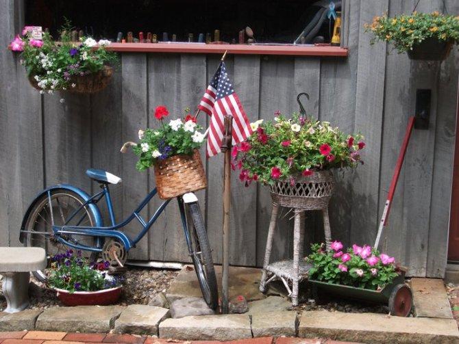 Pedals & Petals-Garden Bikes