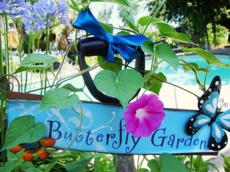 Shabby Garden Signs