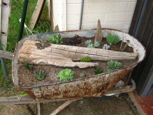 Brian's desert style wheelbarrow