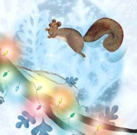 Christmas Squirrels by stephie