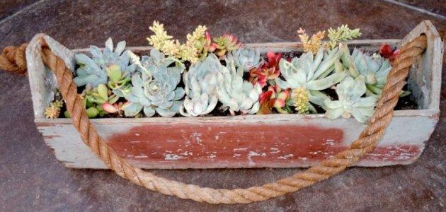 Nancy Pedersen's toolbox container.