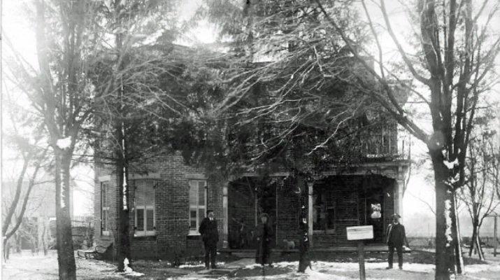 Myra's historic 1800s home