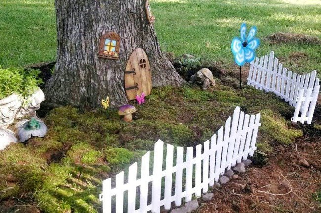 Stacy Green's detailed and whimsical garden