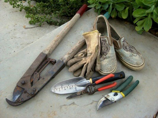 Favorite tools and shoes