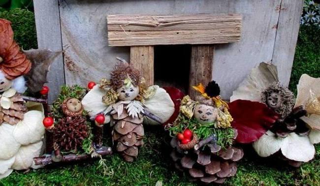 Barb's garden fairies