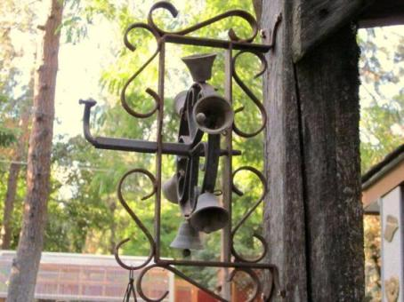 Sheron Olson's unique dinner bell