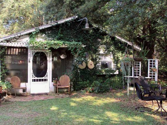 """Vicki Rushing says, """"This is my playhouse, my favorite place to be."""""""