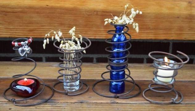 Marie Niemann's candle holders