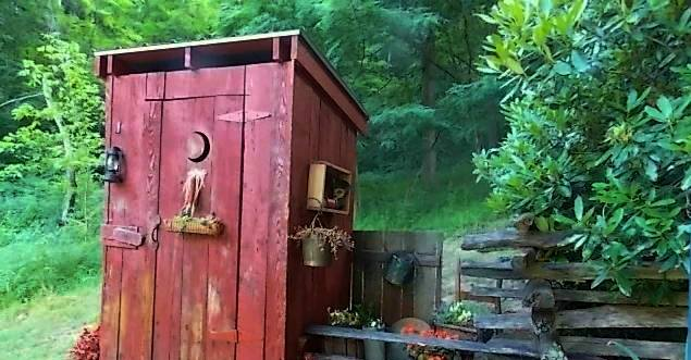 Cindy's outhouse