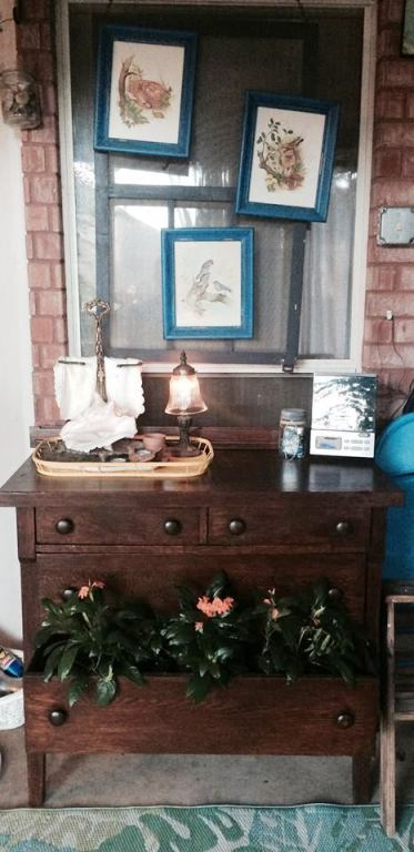 Terri Kay's dresser all finished and decorated!
