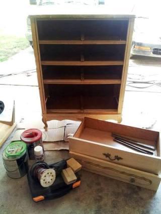 Valerie Blackwel'sl dresser, before