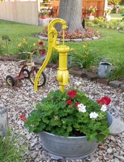 Debbie McMurry's yellow pump