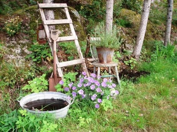 Hanne Dølheim's rustic and informal vignette