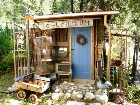 Blue Fox Farm's super cute coop