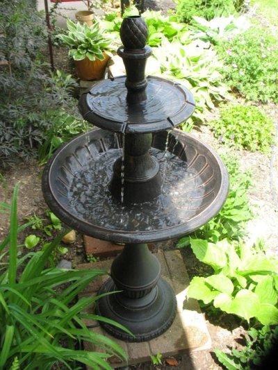 Jenny Alexander's fountain before