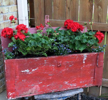 Jeanie Merritt An old farm tool box