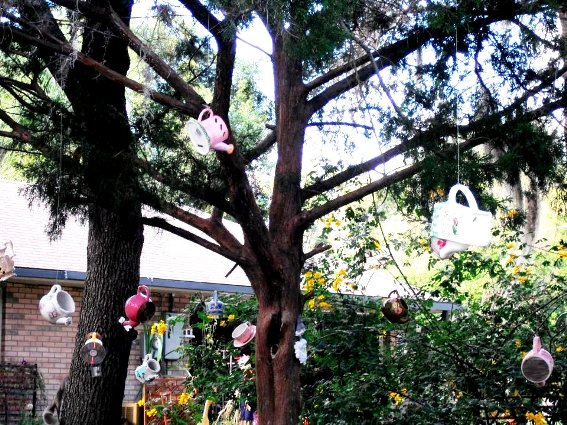 Myrtle McCombs's whimsical children's garden
